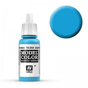 Model Color - Adria Blau (Deep Sky Blue) [066] · VAL MC70844 ·  Acrylicos Vallejo