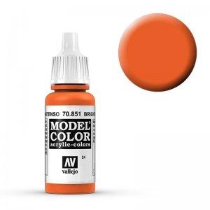 Model Color - Reinorange (Bright Orange) [024] · VAL MC70851 ·  Acrylicos Vallejo
