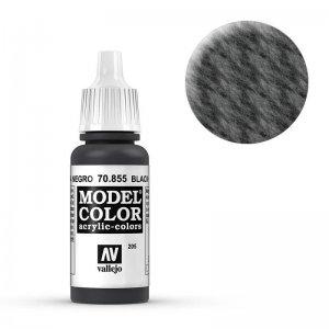 Model Color - Lasurschwarz (Black Glaze) [205] · VAL MC70855 ·  Acrylicos Vallejo