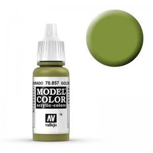 Model Color - Goldoliv (Golden Olive) [079] · VAL MC70857 ·  Acrylicos Vallejo