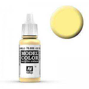 Model Color - Eisgelb (Ice Yellow) [013] · VAL MC70858 ·  Acrylicos Vallejo