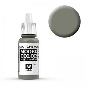 Model Color - Geölter Stahl (Oily Steel) [177] · VAL MC70865 ·  Acrylicos Vallejo