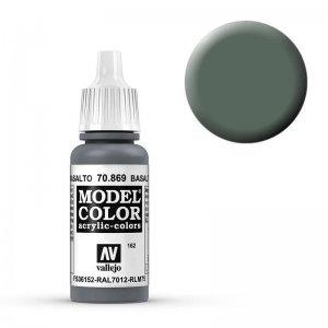 Model Color - Basaltgrau (Basaltgrey) [162] · VAL MC70869 ·  Acrylicos Vallejo