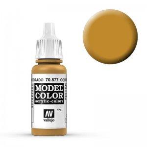 Model Color - Goldbraun (Goldbrown) [126] · VAL MC70877 ·  Acrylicos Vallejo