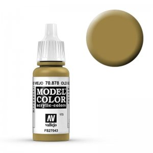 Model Color - Altes Gold (Old Gold) [173] · VAL MC70878 ·  Acrylicos Vallejo