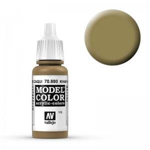 Model Color - Khaki Grau (Khaki Grey) [113] · VAL MC70880 ·  Acrylicos Vallejo