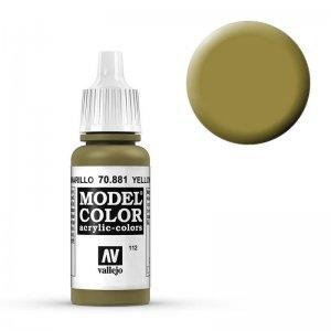 Model Color - Gelbgrün (Yellow Green) [112] · VAL MC70881 ·  Acrylicos Vallejo