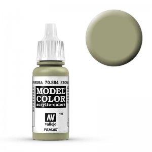 Model Color - Steingrau (Stone Grey) [104] · VAL MC70884 ·  Acrylicos Vallejo