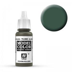 Model Color - Grauoliv (Olive Grey) [092] · VAL MC70888 ·  Acrylicos Vallejo