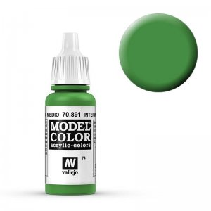 Model Color - Lichtgrün (Intermediate Green) [074] · VAL MC70891 ·  Acrylicos Vallejo