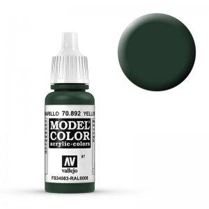 Model Color - Gelbolivgrün (Yellow Olive) [087] · VAL MC70892 ·  Acrylicos Vallejo