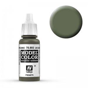 Model Color - Dunkelgrün USA (US Dark Green) [095] · VAL MC70893 ·  Acrylicos Vallejo