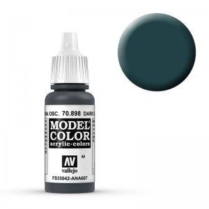 Model Color - Schwarzblau (Dark Sea Blue) [048] · VAL MC70898 ·  Acrylicos Vallejo