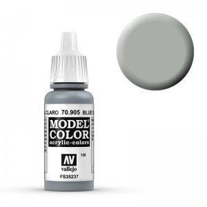 Model Color - Blaugrau Hell (Bluegrey Pale) [156] · VAL MC70905 ·  Acrylicos Vallejo