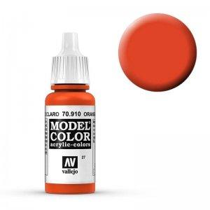 Model Color - Blutorange (Orange Red) [027] · VAL MC70910 ·  Acrylicos Vallejo