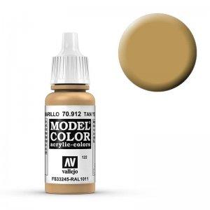 Model Color - Braungelb (Tan Yellow) [122] · VAL MC70912 ·  Acrylicos Vallejo