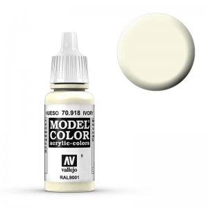 Model Color - Elfenbein (Ivory) [005] · VAL MC70918 ·  Acrylicos Vallejo