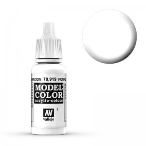 Model Color - Untergrund Weiss (Foundation White) [002] · VAL MC70919 ·  Acrylicos Vallejo