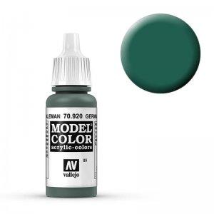 Model Color - Unif. Wehrm. WWII (German Uniform) [085] · VAL MC70920 ·  Acrylicos Vallejo
