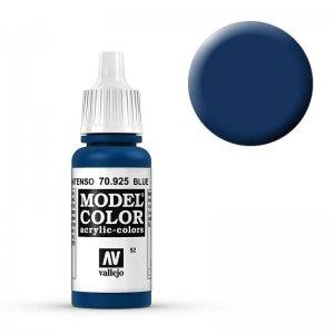 Model Color - Blau (Blue) [052] · VAL MC70925 ·  Acrylicos Vallejo