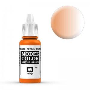 Model Color - Transparent Orange (Transp. Orange) [185] · VAL MC70935 ·  Acrylicos Vallejo