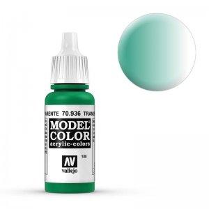 Model Color - Transparent Grün (Transparent Green) [188] · VAL MC70936 ·  Acrylicos Vallejo