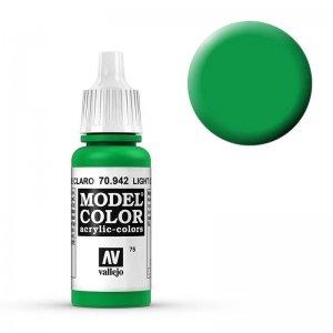 Model Color - Hellgrün (Light Green) [075] · VAL MC70942 ·  Acrylicos Vallejo