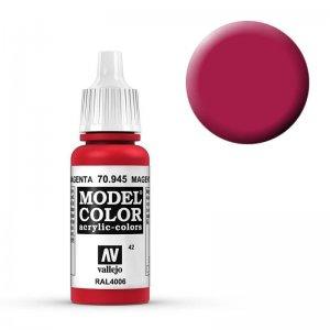 Model Color - Verkehrspurpur (Magenta) [042] · VAL MC70945 ·  Acrylicos Vallejo