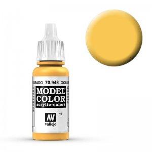 Model Color - Safrangelb (Golden Yellow) [016] · VAL MC70948 ·  Acrylicos Vallejo