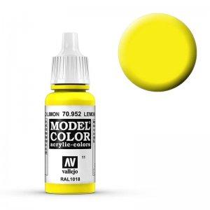 Model Color - Zitronengelb (Lemon Yellow) [011] · VAL MC70952 ·  Acrylicos Vallejo