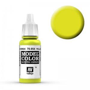 Model Color - Grüngelb (Yellow Green) [078] · VAL MC70954 ·  Acrylicos Vallejo