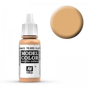 Model Color - Beige Hautfarbe (Flat Flesh) [018] · VAL MC70955 ·  Acrylicos Vallejo