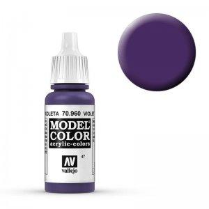 Model Color - Blauviolett (Violet) [047] · VAL MC70960 ·  Acrylicos Vallejo