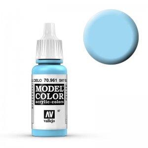 Model Color - Lichtblau (Sky Blue) [067] · VAL MC70961 ·  Acrylicos Vallejo