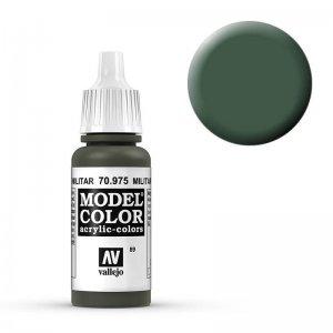 Model Color - Flaschengrün (Military Green) [089] · VAL MC70975 ·  Acrylicos Vallejo