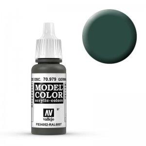 Model Color - Braungrün (Germ. Cam. Dark Green) [097] · VAL MC70979 ·  Acrylicos Vallejo