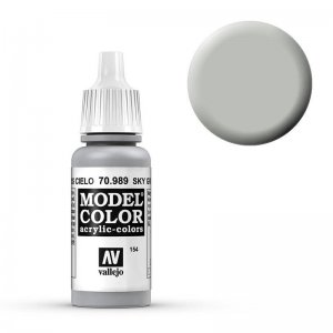 Model Color - Signalgrau (Sky Grey) [154] · VAL MC70989 ·  Acrylicos Vallejo