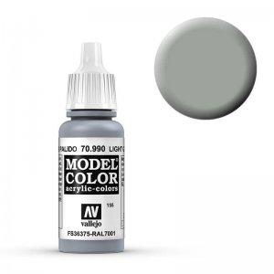 Model Color - Silbergrau (Light Grey) [155] · VAL MC70990 ·  Acrylicos Vallejo