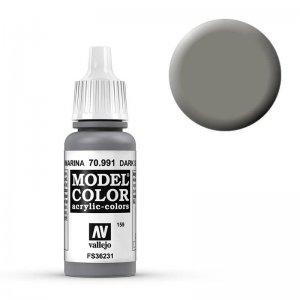 Model Color - Staubgrau (Dark Sea Grey) [159] · VAL MC70991 ·  Acrylicos Vallejo