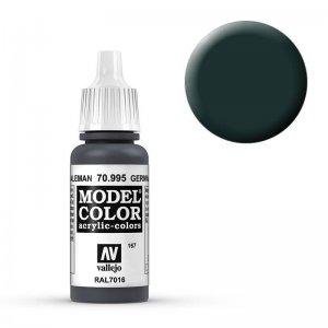 Model Color - Anthrazitgrau (German Grey) [167] · VAL MC70995 ·  Acrylicos Vallejo
