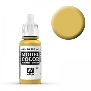 Model Color - Gold (Gold) [172] · VAL MC70996 ·  Acrylicos Vallejo