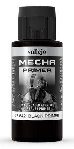 Grundierung, Schwarz, 60 ml · VAL MEC73642 ·  Acrylicos Vallejo