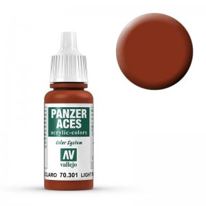 Panzer Aces 001 Light Rust 17 ml · VAL PA301 ·  Acrylicos Vallejo