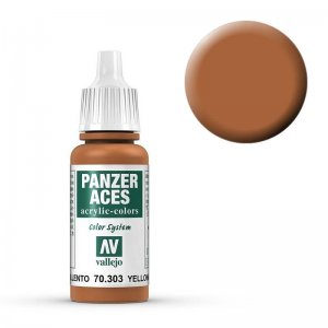 Panzer Aces 303 Yellowish Rust 17 ml · VAL PA303 ·  Acrylicos Vallejo