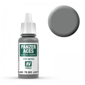 Panzer Aces 005 Light Rubber 17 ml · VAL PA305 ·  Acrylicos Vallejo