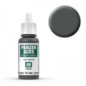 Panzer Aces 006 Dark Rubber 17 ml · VAL PA306 ·  Acrylicos Vallejo