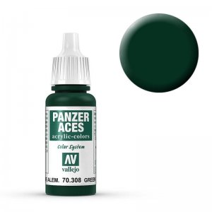Panzer Aces 008 Green Tail Light 17 ml · VAL PA308 ·  Acrylicos Vallejo