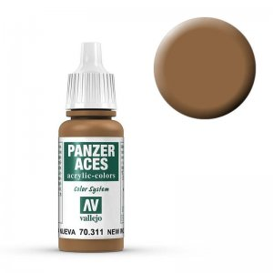 Panzer Aces 011 New Wood 17 ml · VAL PA311 ·  Acrylicos Vallejo