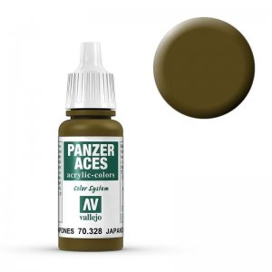 Panzer Aces 028 Japanese Tankcrew 17 ml · VAL PA328 ·  Acrylicos Vallejo