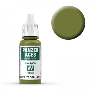 Panzer Aces 030 Highlight Russian Tankcrew II 17 ml · VAL PA330 ·  Acrylicos Vallejo